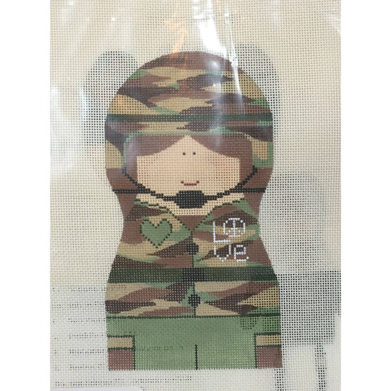 Nashville Needleworks-2459-Army Girl