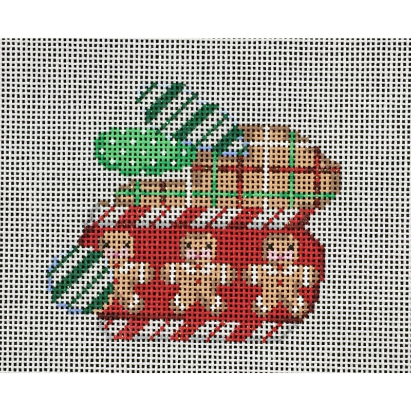 Nashville Needleworks-2696-Gingerbread Bunny