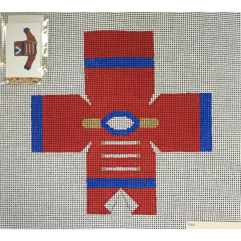 Nashville Needleworks-2968-Nutcracker Topper