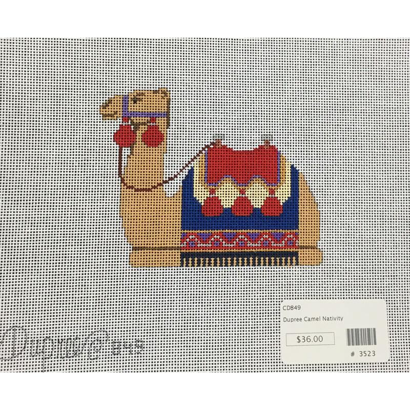 Nashville Needleworks-3523-Dupree Sitting Camel