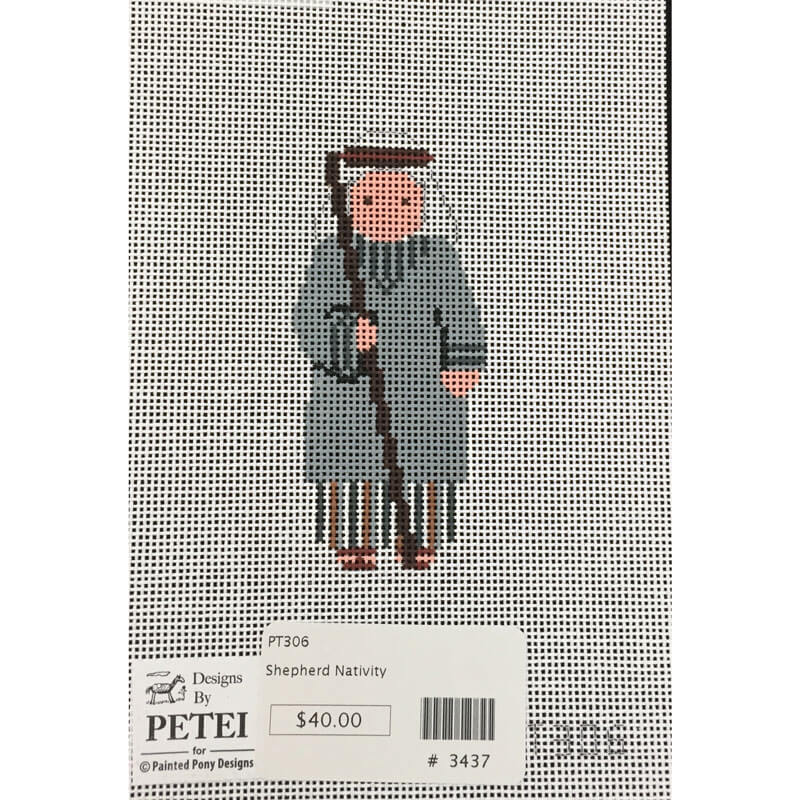 Nashville Needleworks-3437-Petei Nativity Shepherd