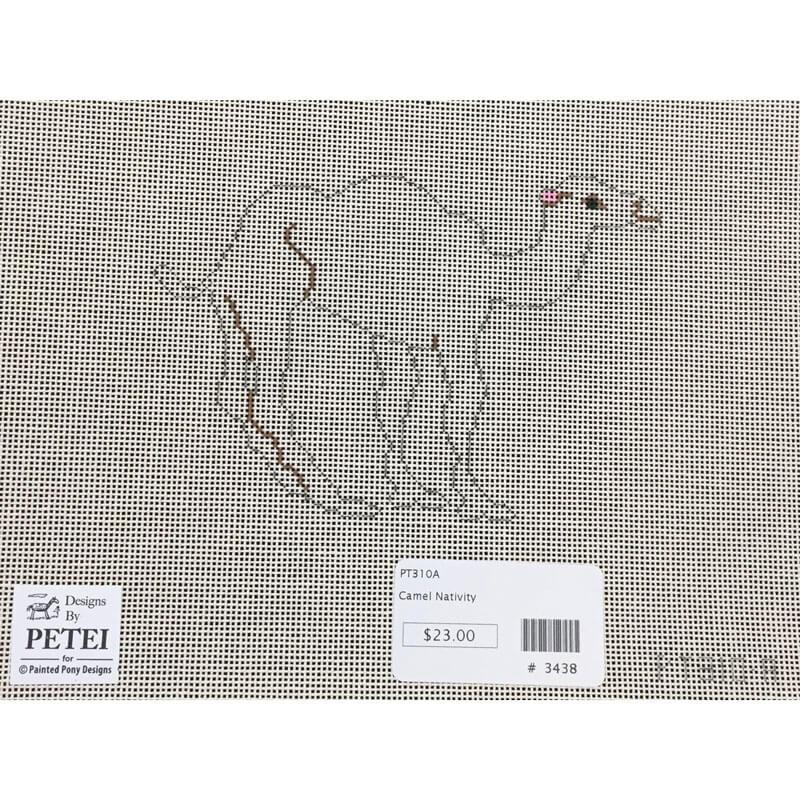 Nashville Needleworks-3438-Petei Nativity Camel