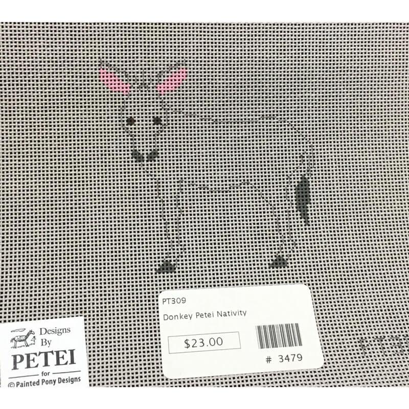 Nashville Needleworks-3479-Petei Nativity Donkey