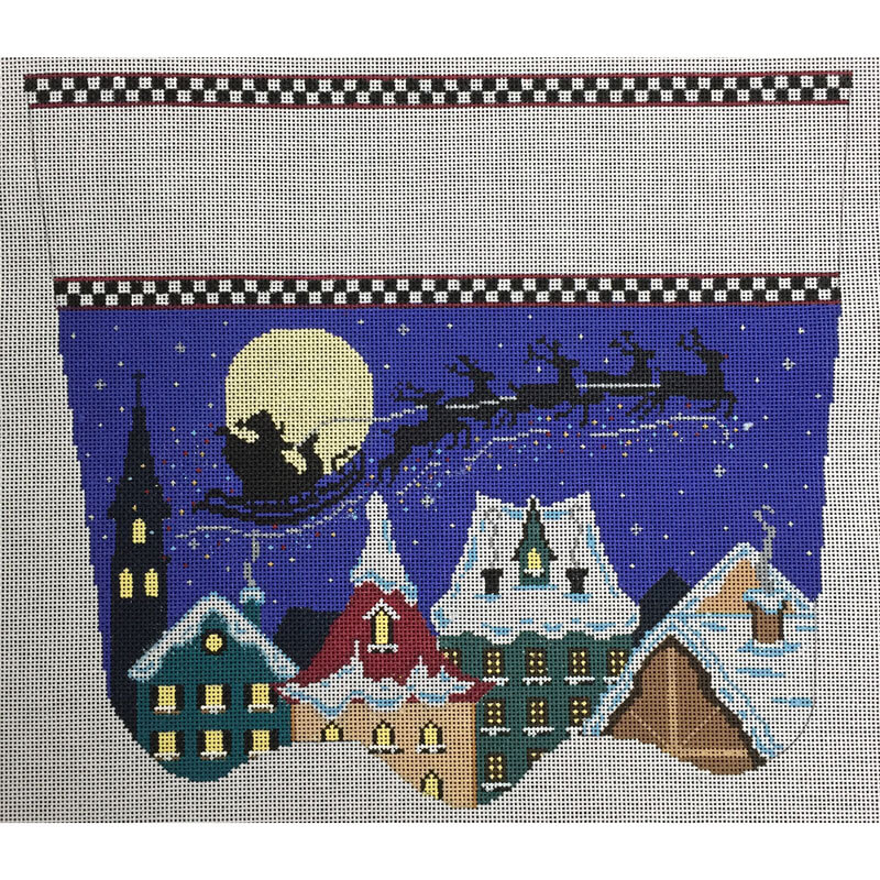 Nashville Needleworks-3947-Santa's Midnight Ride