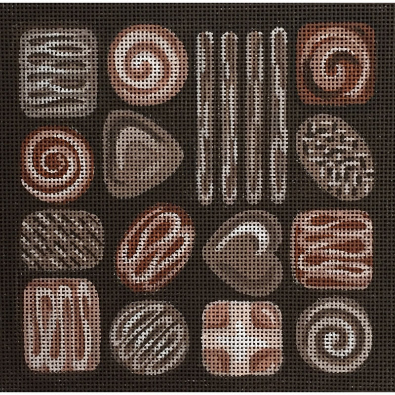 Nashville Needleworks-3705-Box of Chocolates
