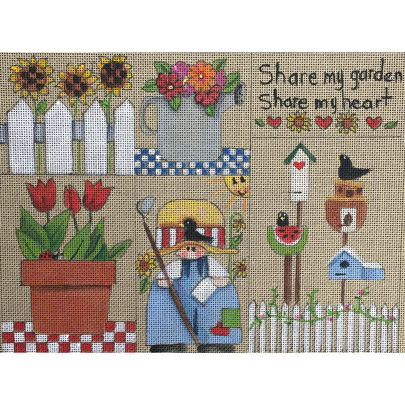 Nashville Needleworks-3323-Share My Garden Sampler
