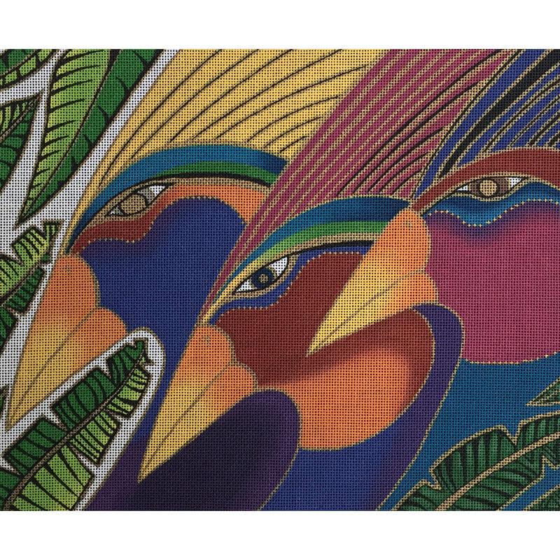 Nashville Needleworks-2913-Rainbow Birds