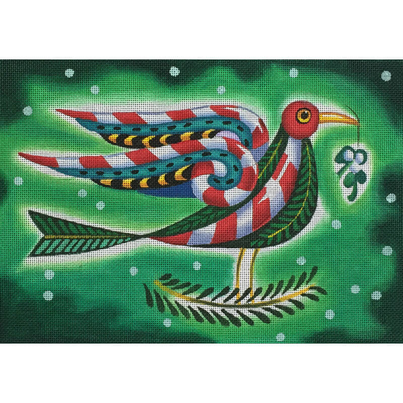 Nashville Needleworks-3201-Peppermint Bird