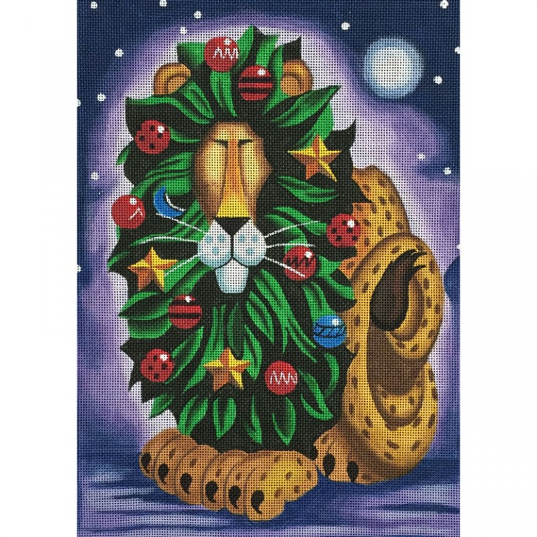 Nashville Needleworks-2799-Christmas Lion