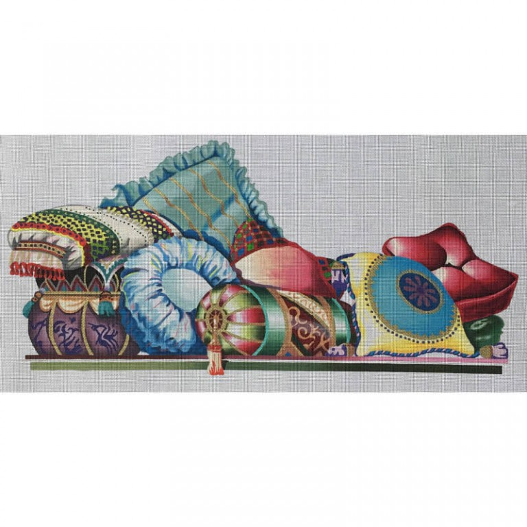 Nashville Needleworks-3693-Long Pillows