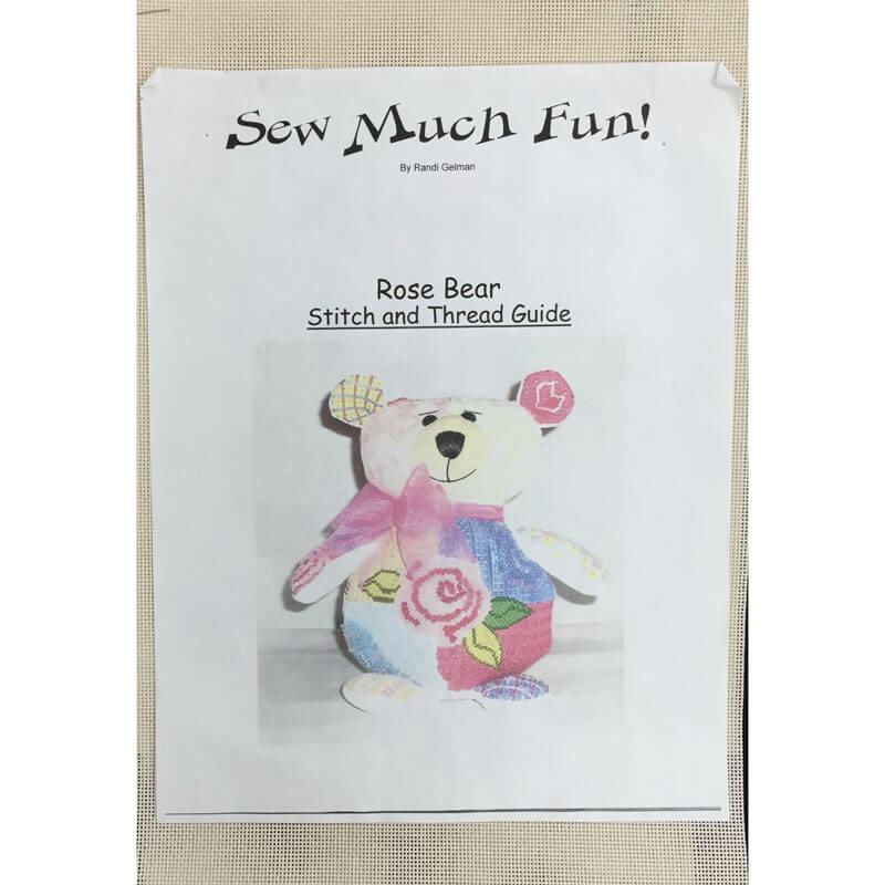 Nashville Needleworks-706-Rose Bear