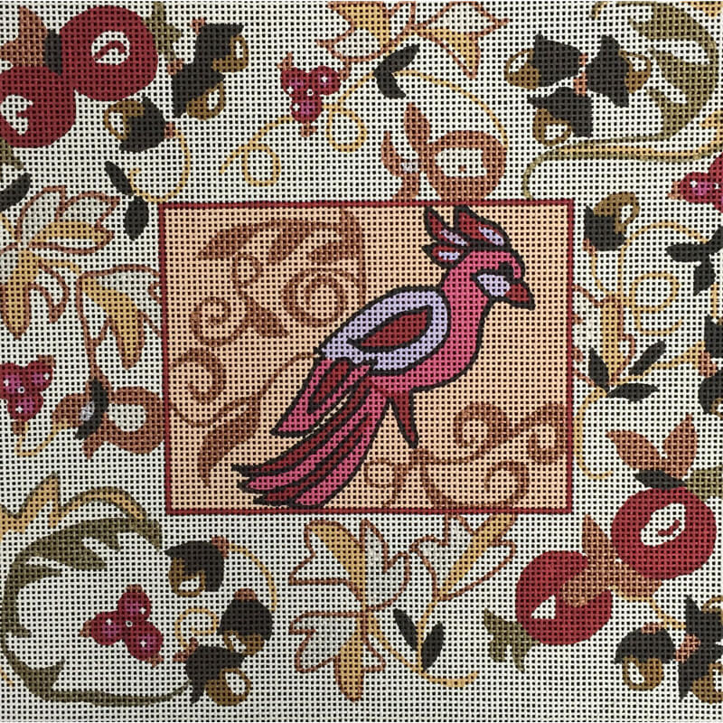 Nashville Needleworks-1486-Jacobean Bird