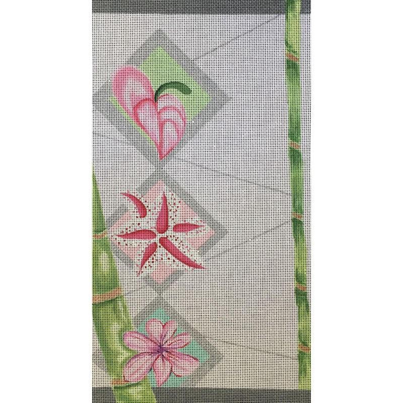 Nashville Needleworks-1884-Bamboo with Flowers