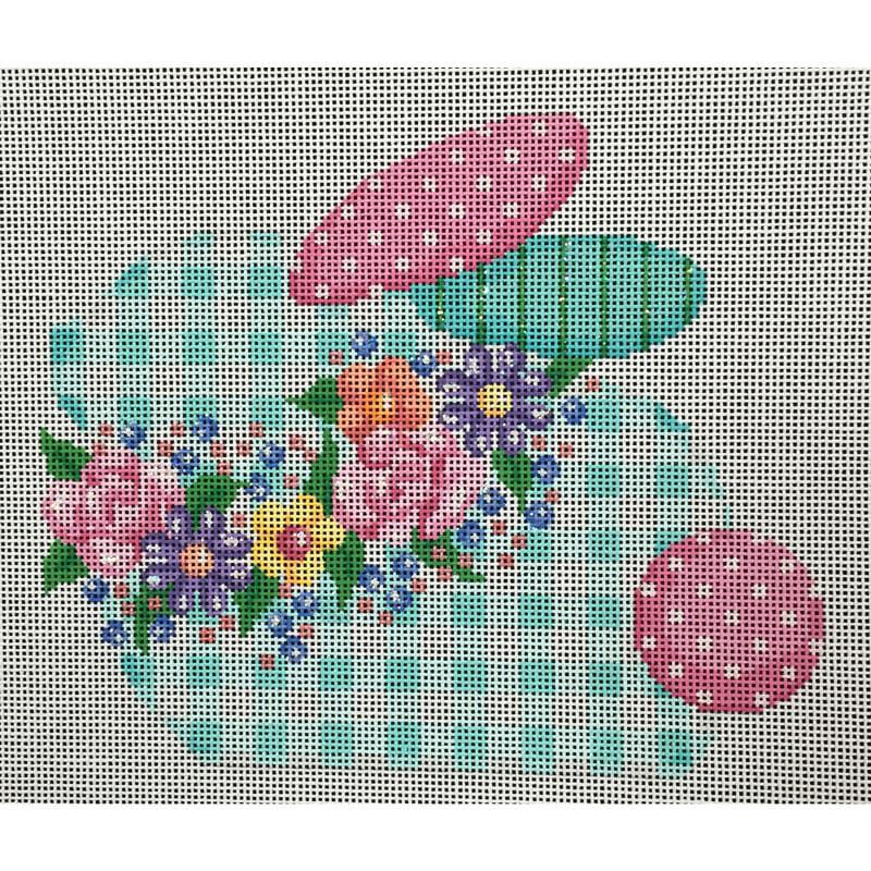 Nashville Needleworks-4156-Botanical Baby Bunny