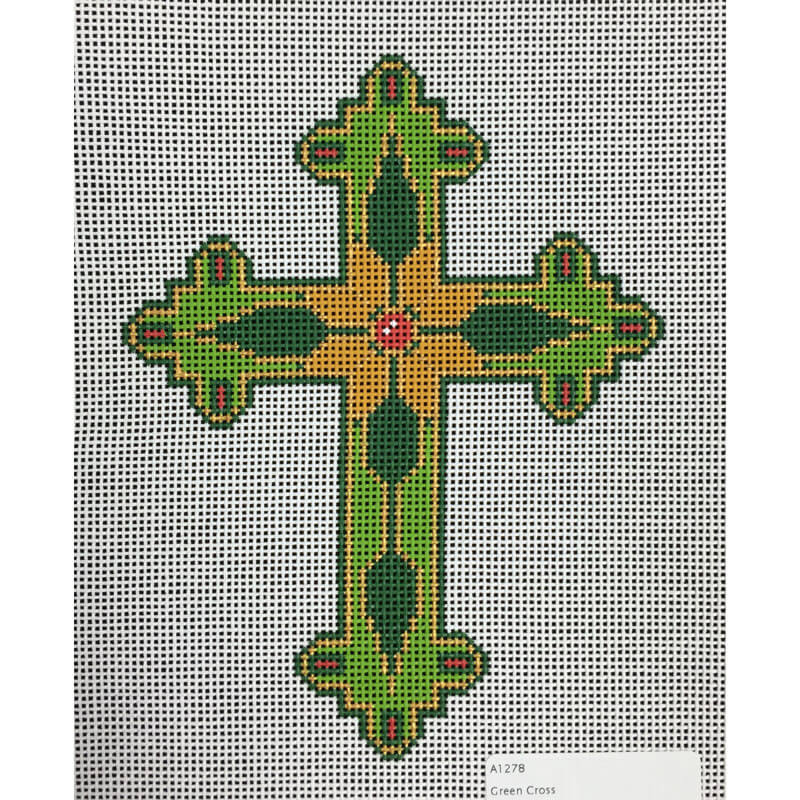 Nashville Needleworks-4043-Green Cross
