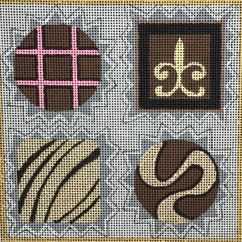 Nashville Needleworks-3173-Small Chocolate Box