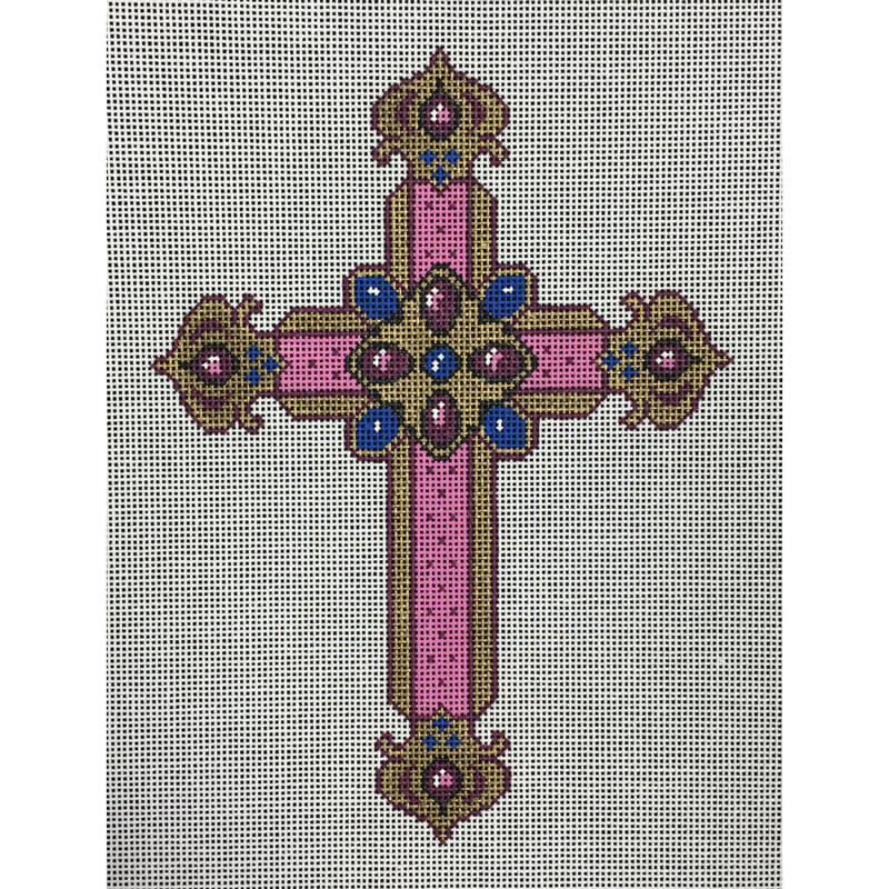 Nashville Needleworks-4041-Pink Cross