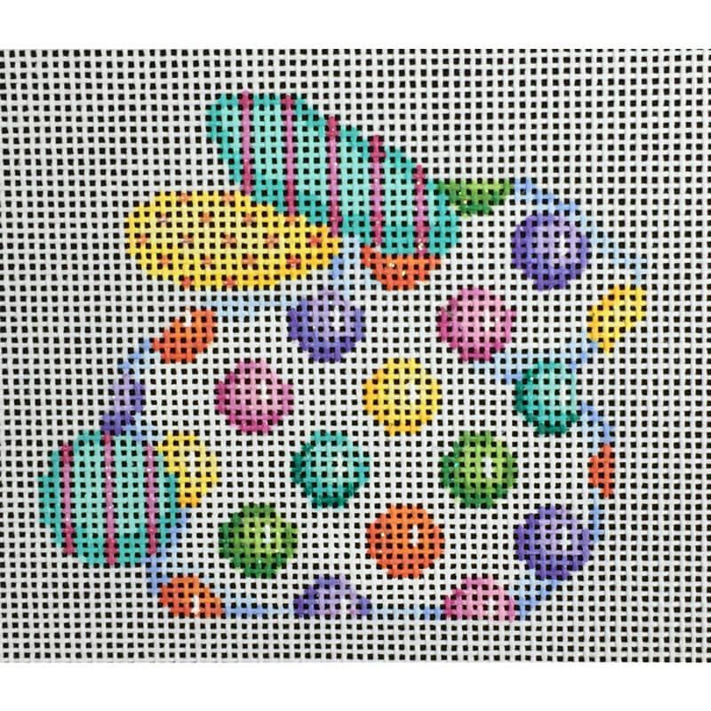 Nashville Needleworks-3572-Coin Dot Baby Bunny