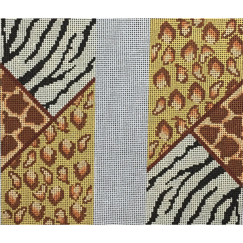 Nashville Needleworks-143-Animal Print Eyeglass Case
