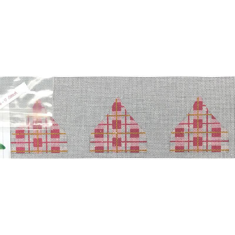 Nashville Needleworks-4076-Pink Plaid Mini Kiss