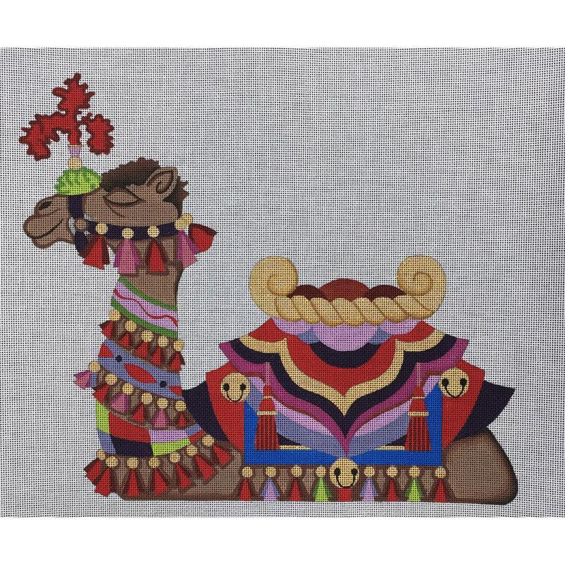 Nashville Needleworks-4063-Camel #1 Red