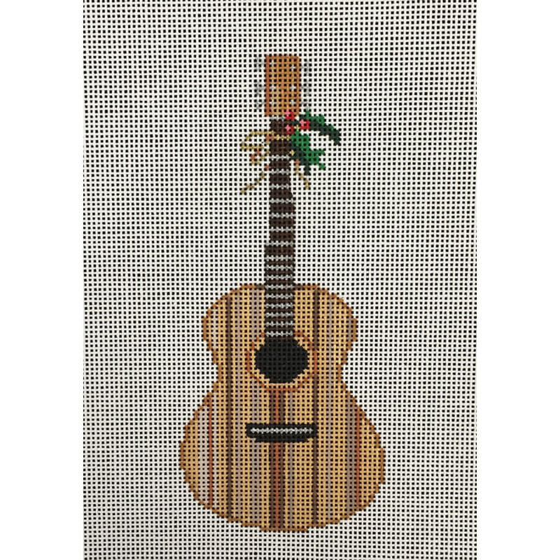 Nashville Needleworks-4079-Acoustic Guitar Ornament