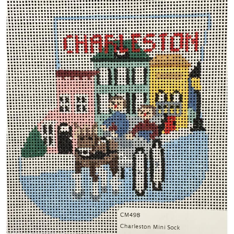 Nashville Needleworks-4143-Charleston Mini Sock