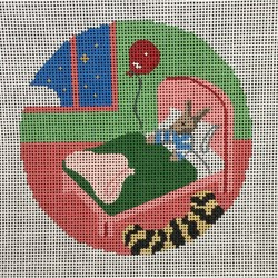 Nashville Needleworks-4129-Goodnight Moor-Bunny in Bed