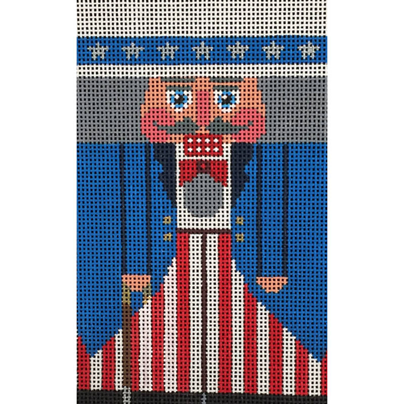 Nashville Needleworks-4103-Uncle Sam Nutcracker Roll-Up