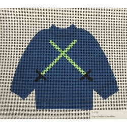 Nashville Needleworks-4246-Light Sabers Sweater