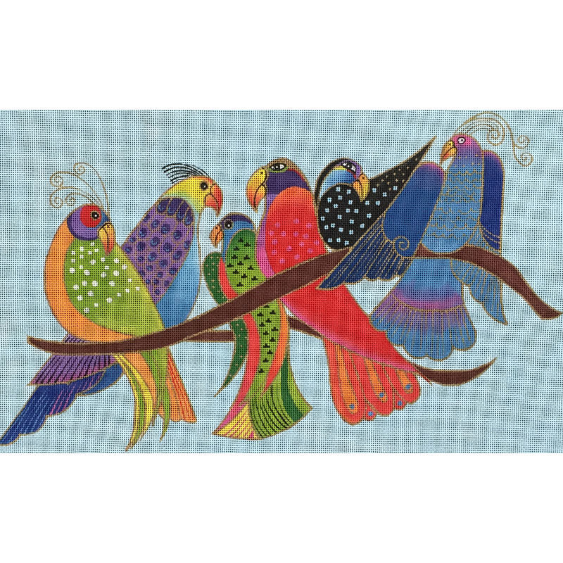 Nashville Needleworks-3816-Songbirds