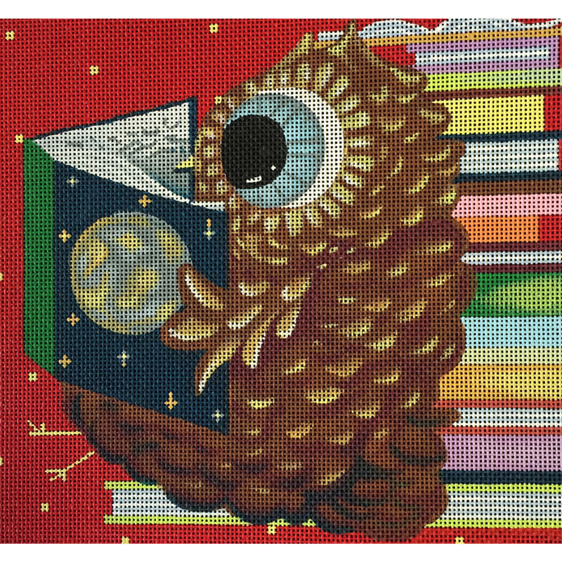 Nashville Needleworks-4281-Reader Owl