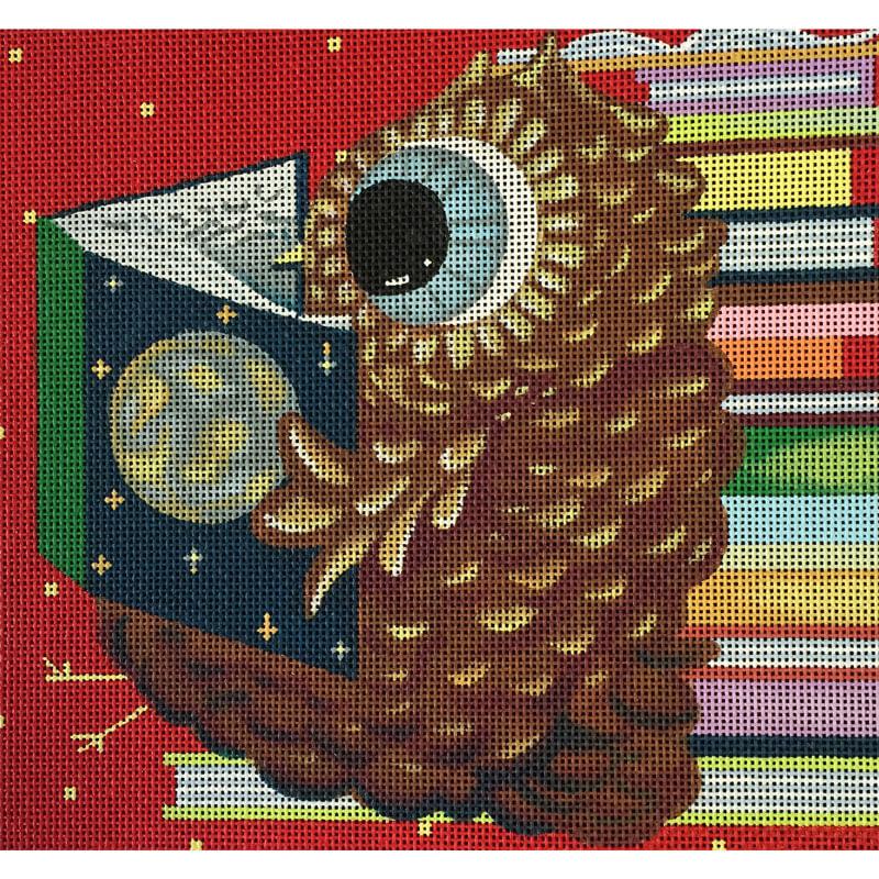 Nashville Needleworks-4281-Reader Owl
