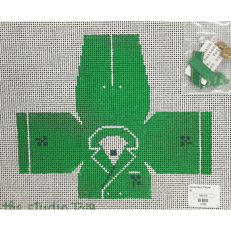Nashville Needleworks-4182-Leprechaun Topper