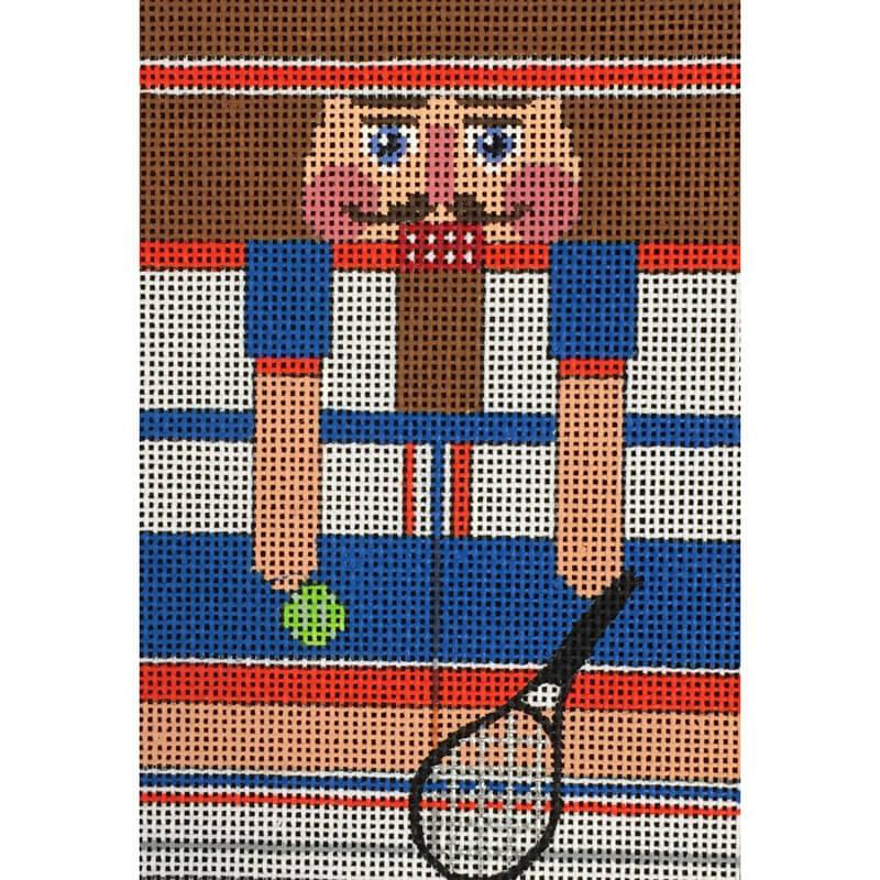 Nashville Needleworks-4445-Tennis Nutcracker Roll-Up