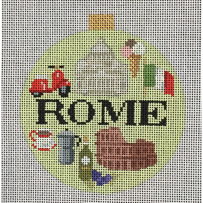 Nashville Needleworks-Travel Round-Rome