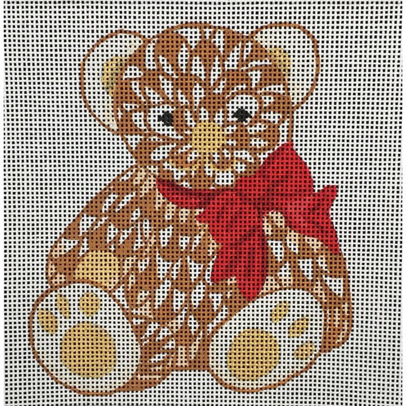 Nashville Needleworks-4415-Mini Fishnet Teddy Bear