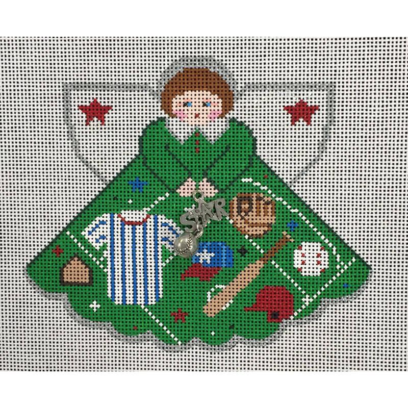 Nashville Needleworks-4462-Baseball Star Angel