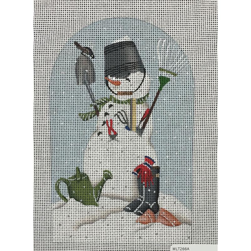 Nashville Needleworks-4408-Garden Snowman