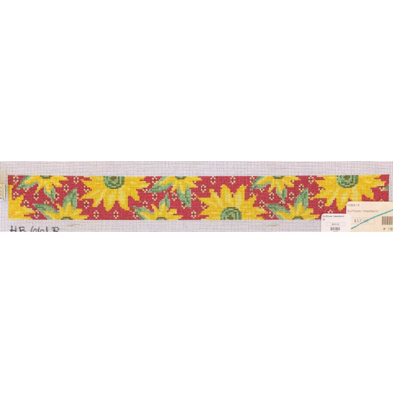 Nashville Needleworks-1877-Sunflower Headband