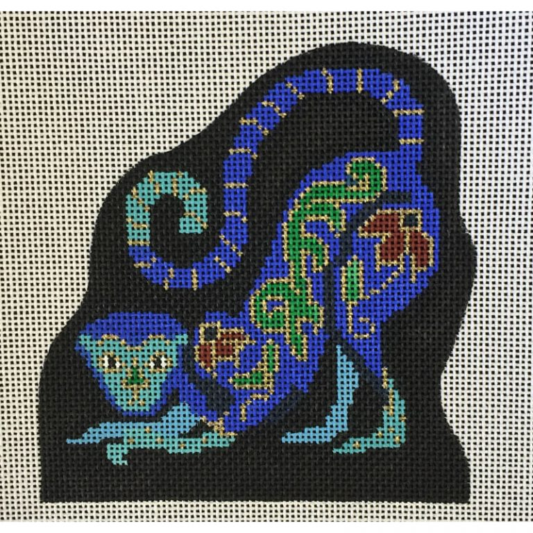 Nashville Needleworks-3542-Cloisonne Monkey