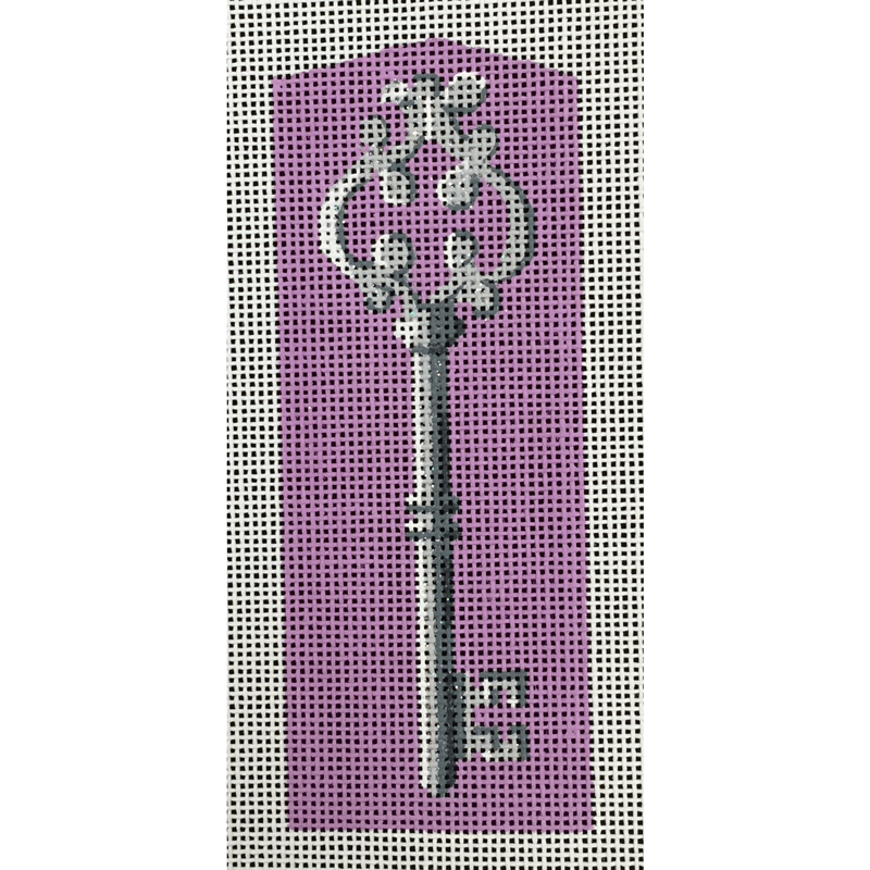 Nashville Needleworks-4526-Purple Key Fob