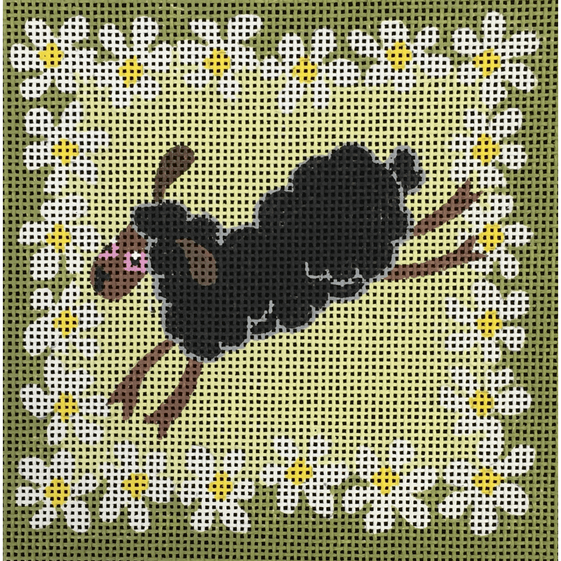 Nashville Needleworks-4539-Black Single Sheep