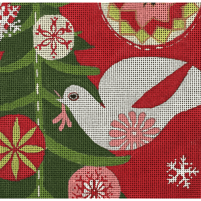 Nashville Needleworks-4512-Mod Holiday Dove