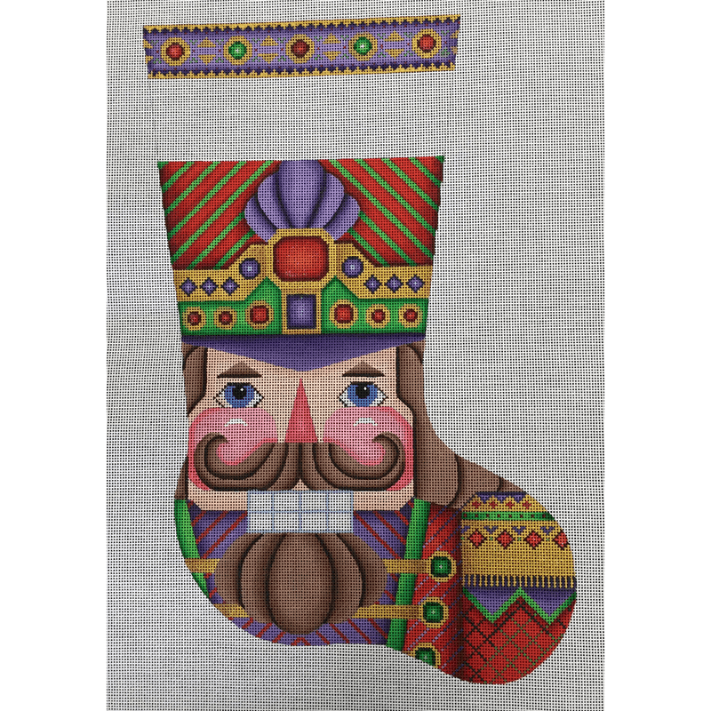 Nashville Needleworks-4540-Nutcracker Stocking