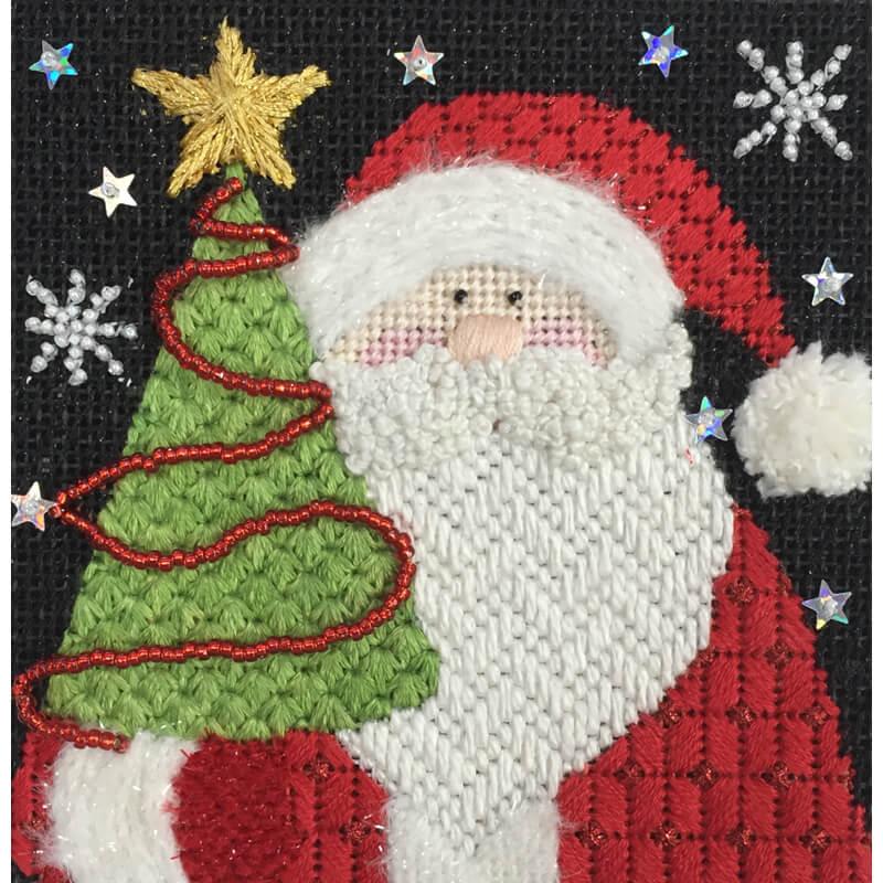 Nashville Needleworks-Santa Trio Stitch Club