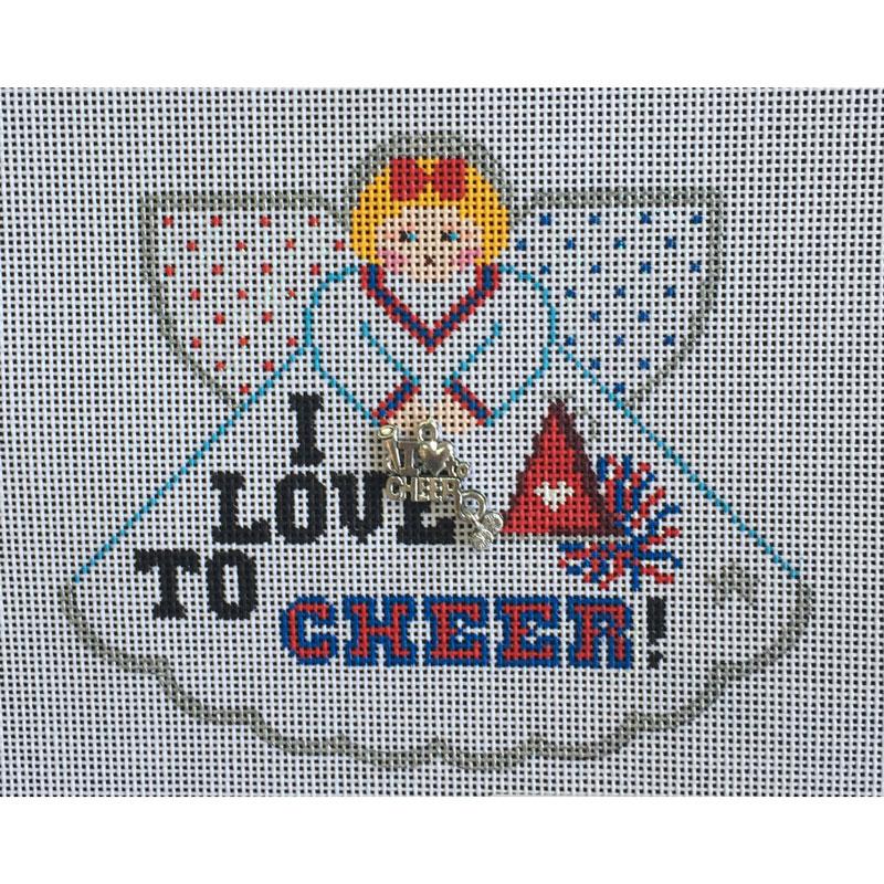 Nashville Needleworks-4661-I Love to Cheer Angel