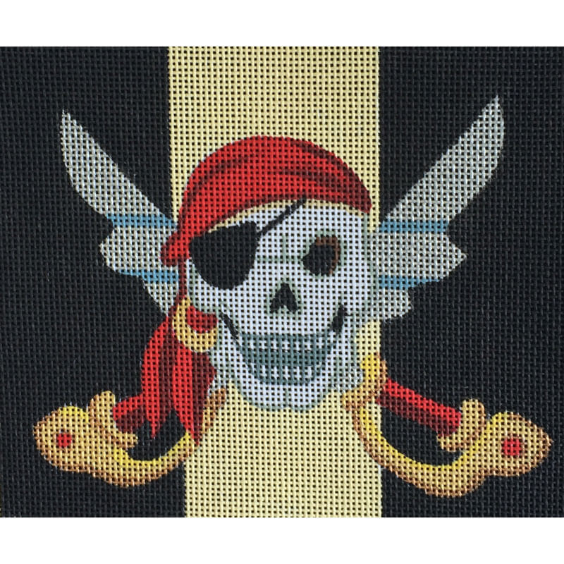 Nashville Needleworks-2425-Pirate Skull & Swords