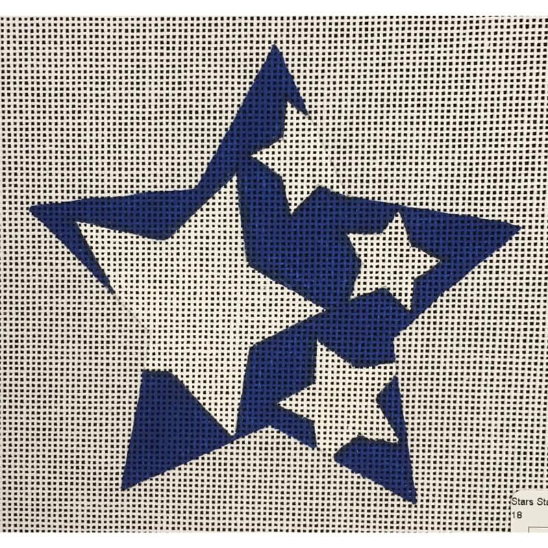 Nashville Needleworks-4781-Stars Star Heart