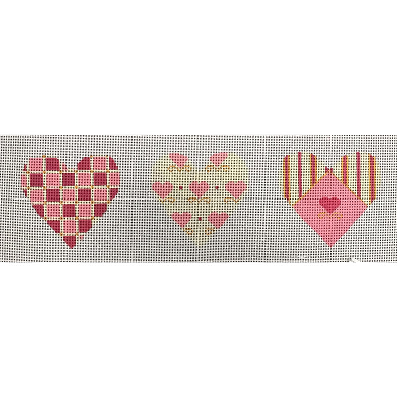 Nashville Needleworks-4720-Rose & Cream 3-D Heart
